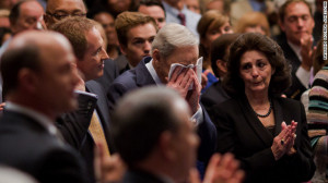 Charles Stanley cries as First Baptist Church Atlanta members honor ...