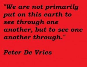 Peter de vries famous quotes 2