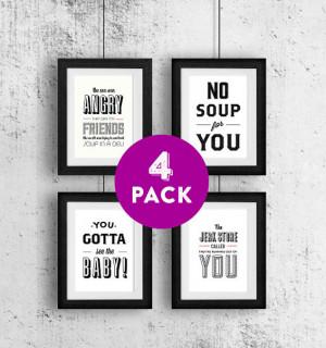 Type Print, Seinfeld Quotes, Seinfeld Poster, Cosmo Kramer, 5x7 Art ...