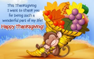 Super Cute Happy Thanksgiving Sayings to your Loved ones 2014