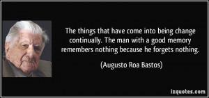 More Augusto Roa Bastos Quotes