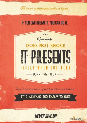 Success quotes on Behance