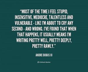 Insensitive Quotes