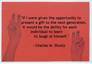 Charles M Shultz Dog Quote