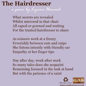 Hairdresser Poem