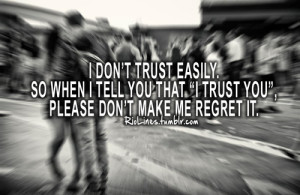 Trust You Quotes For Relationships