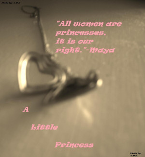 quote from Maya from A Little Princess…..and My Locket…….