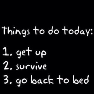 Every day...