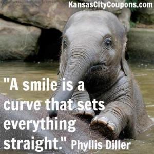 ... quote #kansascity #kansascitycoupons #cute #babyelephant #elephant #