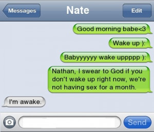 How to wake up your Boyfriend