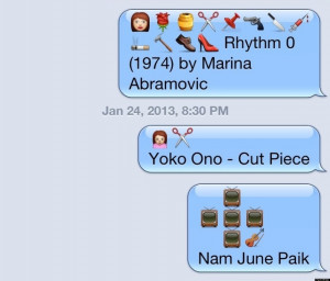 Clever Emoji Texts Funny emoji texts songs.