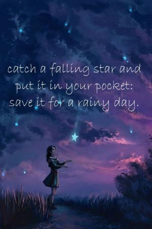 Catch a falling star ...: Digital Paintings, Shoots Stars, Dreams ...