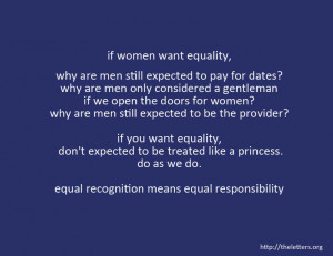 Radical Idea About Gender Equality