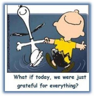 Charlie Brown & Snoopy get it.