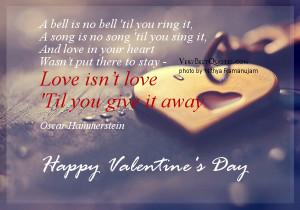 Valentine's Day Love Quotes and Sayings
