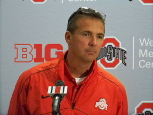 Urban Meyer is now 22-0 at Ohio State (megasportsnews.com file photo)