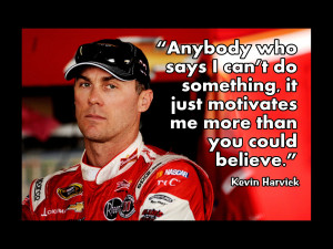 Kevin Harvick NASCAR Driver Photo Quote Poster Fan Wall Art Print 8x11 ...