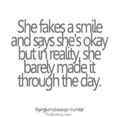faking a smile quotes google search more life quotes quotes 3 faking a ...