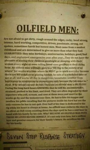 Love My Hard Working Man Quotes Love oilfield men
