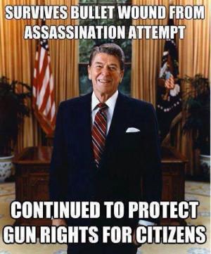 Ronald Reagan: Gun Rights Myth Debunked