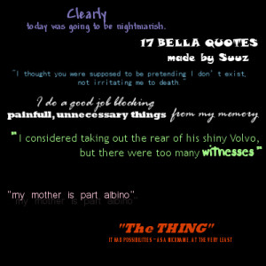 Quotes Bella Swan Picture