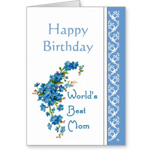 Mum Mom Cards Birthday Poems Relatives Quotes