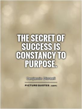 Through perseverance many people win success out of what seemed ...