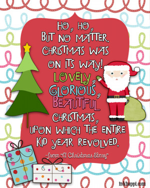 Christmas Story Quotes From