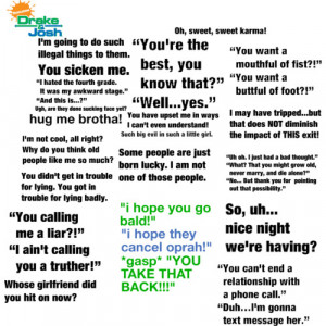 Drake And Josh Quotes - Polyvore