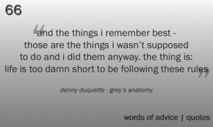 Grey Anatomy Quotes
