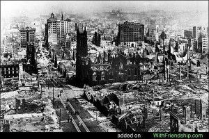 San Francisco earthquake on Apr'18 2006 struck many lives