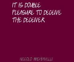 Deceiver Quotes