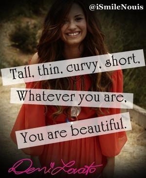 Jessica, 12 thn, Prime One SchoolBest Demi Lovato quote :)