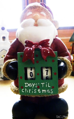 counting down til christmas on my camera!!