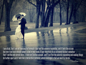 : Afraid of Relationships Quotes Afraid to Love Again Quotes Quotes ...
