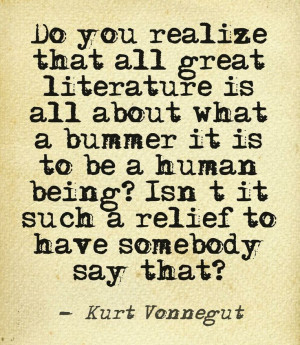 Kurt Vonnegut quote, writers quotes, quotes about writing and ...