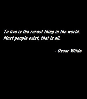 quote about life by Oscar Wilde