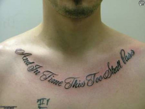 Go Forward from Chest Quotes Tattoos to Men Chest Tattoos