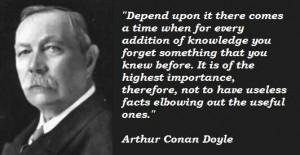 Arthur conan doyle famous quotes 3