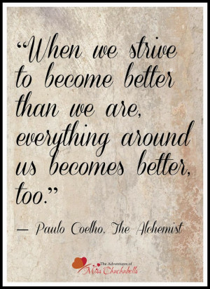 the adventures of miss chuchubells paulo coelho the alchemist quotes
