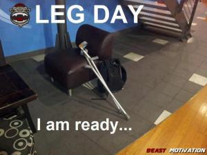 ready for leg