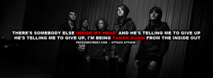 Attack Attack The Wretched Quote Facebook Cover