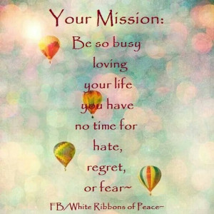 Your Mission, Your Life