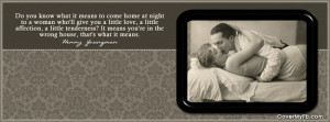 Funny Vintage Marriage Quote Facebook Cover