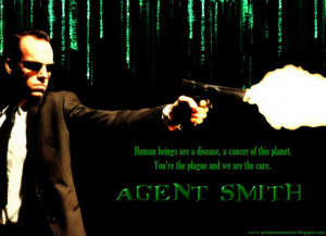 Agent Smith]: You're empty.