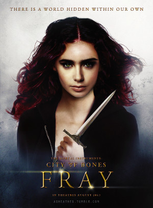 Clary Fray character poster