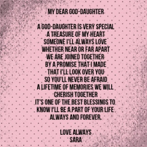 Love My Goddaughter Quotes