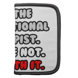 Deal With It ... Funny Occupational Therapist Organizer