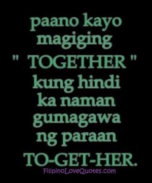 Filipino Love Quotes - Tagalog Love Quotes - Love Quotes Tagalog