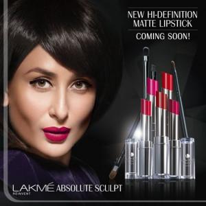Photo:Lakme Absolute Sculpt feat. Kareena Kapoor Khan.